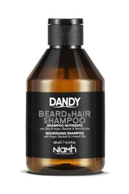 DANDY Beard And Hair Shampoo 300ml - Šampon na bradu, vousy a vlasy