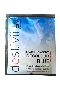 DESTIVII Professional Decolour Blue - melír na vlasy v prášku 40g - zesvětluje o 6-7 tónů