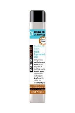 NATURAL WORLD MOROCCAN ARGAN OIL 25ml - 100% čistý marocký arganový olej