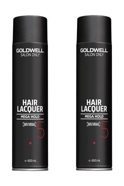GOLDWELL - AKCE Salon Only Hair Lacquer Super Firm - lak na vlasy extra silný 2x600ml