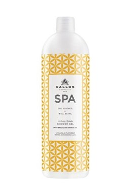 KALLOS SPA Orange Oil Vitalizing Shower Gel 1000ml - sprchový gel s olejem z pomeranče
