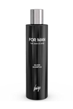 VITALITYS For Man Silver Shampoo 240ml - stříbrný šampon na vlasy