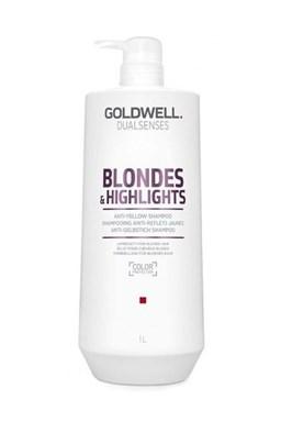 GOLDWELL Dualsenses Blondes And Highlights Shampoo 1000ml - šampon pro bílou blond