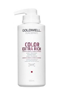 GOLDWELL Dualsenses Color Extra Rich 60sec Treatment 500ml - int. maska pro barvené vlasy