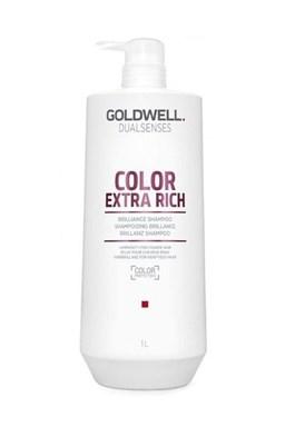 GOLDWELL Dualsenses Color Extra Rich Shampoo 1000ml - pečující šampon pro barvené vlasy
