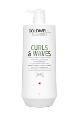 GOLDWELL Dualsenses Curly Twist Conditioner 1000ml - kondic. pro vlasy vlnité a trvalené