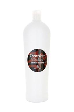 KALLOS Chocolate Repair Shampoo 1000ml - šampon na suché lámavé vlasy