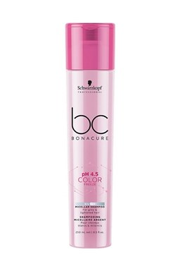 SCHWARZKOPF BC Bonacure Color Freeze Silver Shampoo 250ml - stříbrný šampon na melír vlasy