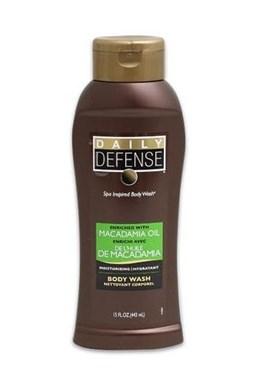 DAILY DEFENSE Macadamia Oil Body Wash 443ml - hydratační tělový šampon