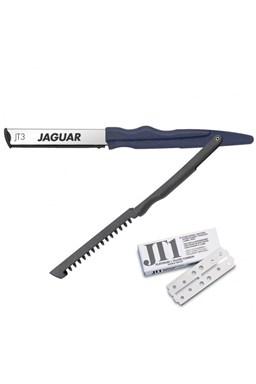 JAGUAR JT3 Břitva s plastovou rukojetí - seřezávač pro tvarování, řezání a holení