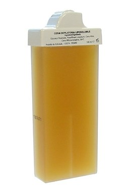 RO.IAL. Natural Profesionální depilacni vosk se středně úzkou hlavicí 10mm - Přírodní 100ml