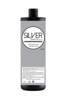 SILVER Shampoo By Alpo 1000ml - Stříbrný šampon s Aloe Vera pro melírované a platinové blond vlasy