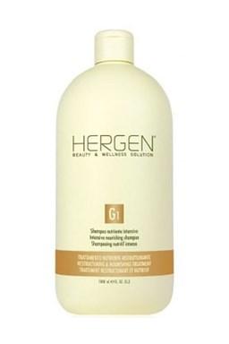 BES Hergen G1 Šampon 1000ml - intenzivní výživná péče na suché vlasy