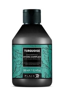 BLACK Turquoise Hydra Shampoo 300ml - šampon na jemné vlasy s extraktem z Algae