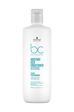 SCHWARZKOPF BC Hyaluronic Moisture Kick Conditioner 1000ml - kondic. pro suché a trvalené vlasy