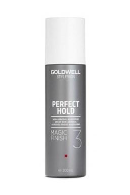 GOLDWELL Perfect Hold Magic Finish Hairspray 200ml - sprej pro zářivý lesk bez aerosolu