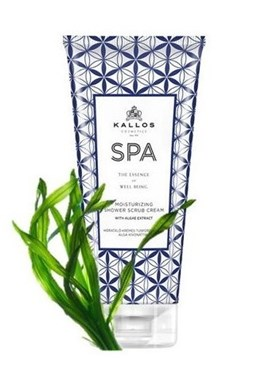 KALLOS SPA Moisturizing Shower and Bath Cream 200ml - hydratační sprchový gel