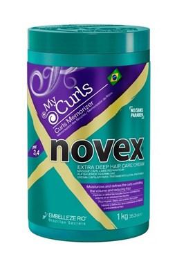 NOVEX My Curls Hair Mask 1000g - regenerační maska pro vlnité a kudrnaté vlasy