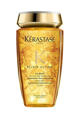 KÉRASTASE Elixir Ultime Le Bain Shampoo 250ml - luxusní šampon s obsahem vzácných olejů