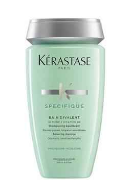 KÉRASTASE Specifique Bain Divalent 250ml - šampon na mastnou pokožku a suché konečky