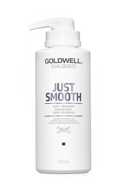 GOLDWELL Dualsenses Just Smooth 60sec Treatment 500ml - uhlazující maska pro krepaté vlasy