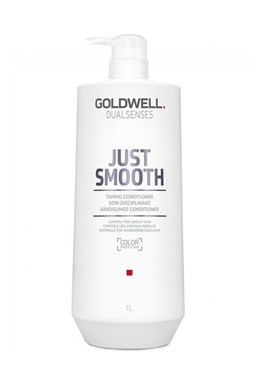 GOLDWELL Dualsenses Just Smooth Conditioner 1000ml - kondic. pro uhlazení krepatých vlasů