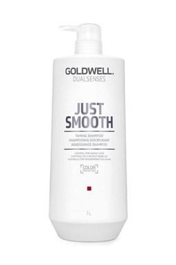 GOLDWELL Dualsenses Just Smooth Shampoo 1000ml - šampon  pro uhlazení krepatých vlasů