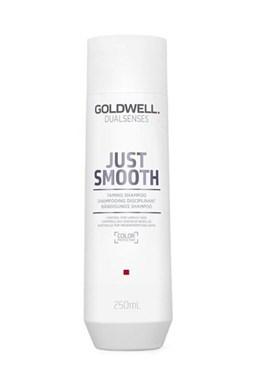 GOLDWELL Dualsenses Just Smooth Shampoo 250ml - šampon pro uhlazení krepatých vlasů