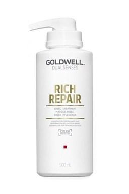 GOLDWELL Dualsenses Rich Repair 60sec Treatment 500ml - intenziv. maska pro lámavé vlasy