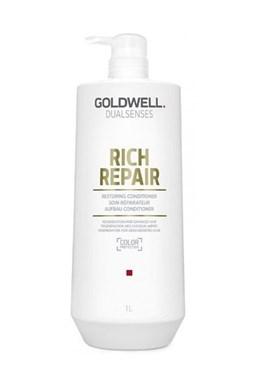 GOLDWELL Dualsenses Rich Repair Conditioner 1000ml - kondic. pro suché a lámavé vlasy