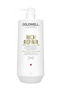 GOLDWELL Dualsenses Rich Repair Shampoo 1000ml - regenerační šampon pro suché vlasy