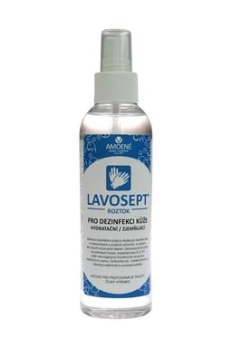 LAVOSEPT Pokožka Dezinfekční roztok na ruce a kůži 200ml - spray s vůní citrónu