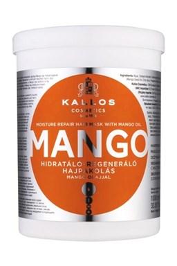 KALLOS KJMN Mango Mask 1000ml - maska na poškozené a suché vlasy