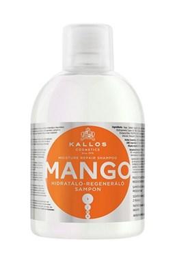 KALLOS KJMN Mango Shampoo 1000ml - šampon na poškozené a suché vlasy