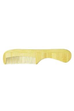DUKO BAM-68 Pánský bambusový hřebínek na vousy 110x24mm