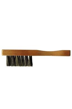 DUKO WC-11 Pánský dřevěný kartáček na vousy 115x16mm - přírodní štětiny