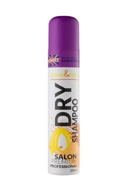 RONNEY Dry Shampoo Blonde And Light 200ml - suchý šampon pro blond vlasy