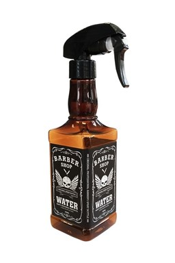 BARBER JACK Rozprašovač na vodu v originálním designu whisky láhve 500ml