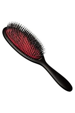 REVOLUTION HAIR Speciální profesionální kartáč na prodloužené vlasy - černý