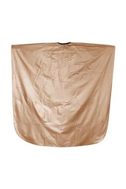 SALON KOMPLET Kadeřnická barvicí pláštěnka z PVC - zlatá