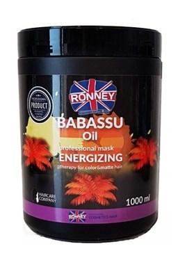 RONNEY Babassu Oil Mask 1000ml - maska pro barvené a zářivé vlasy