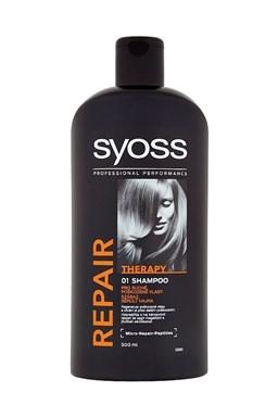 SYOSS Professional Repair Shampoo 500ml - šampon pro suché a poškozené vlasy