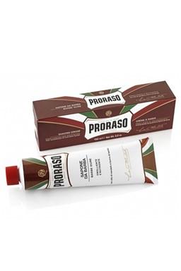 PRORASO Sandalwood Vyživující krém na holení tvrdých vousů - santalové dřevo 150ml