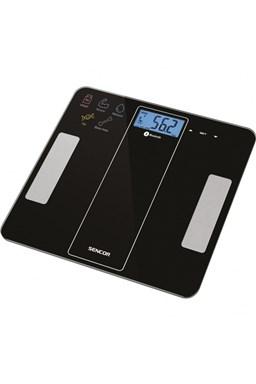 SENCOR SBS 8000BK Fitness váha do 180kg s měření tělesných parametrů - černá