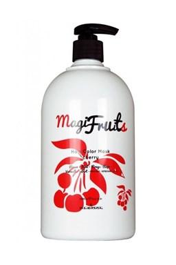 KLÉRAL MagiFruits Hair Color Mask Cherry - barvící vyživující maska na vlasy 1000ml