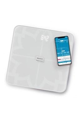 MEDISANA BS 450 WH CONNECT - Analytická digitální váha do 180kg s Bluetooth - bílá
