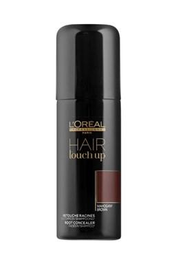 LOREAL Professionnel Hair Touch Up Mahagony Brown 75ml - sprej pro krytí šedin - mahagon