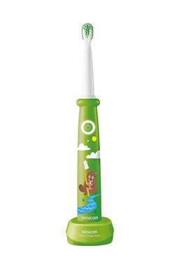 SENCOR SOC 0912GR Dětský sonický elektrický zubní kartáček - zelený