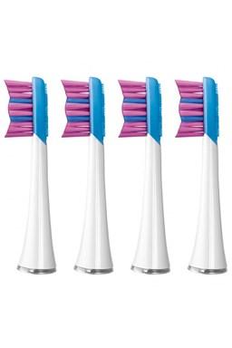 SENCOR SOX 003WH Náhradní hlavice pro sonické elektrické zubní kartáčky SOC - bílé 4ks