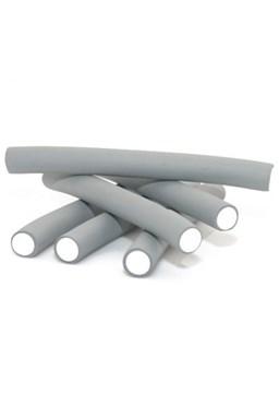DNA Evolution GREY Flex Rollers  12ks - papiloty na vlasy 18x240mm - šedé